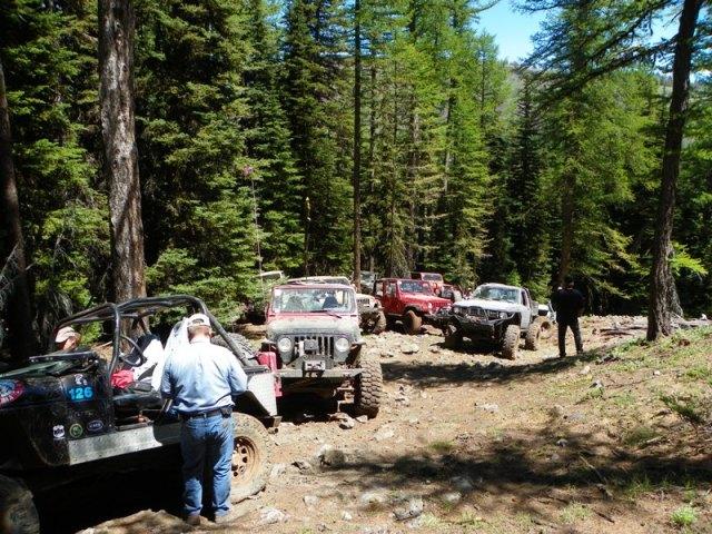 Pacific Northwest 4 Wheel Drive Association's 2011 Trail Jamboree – Day 2 of 5 87
