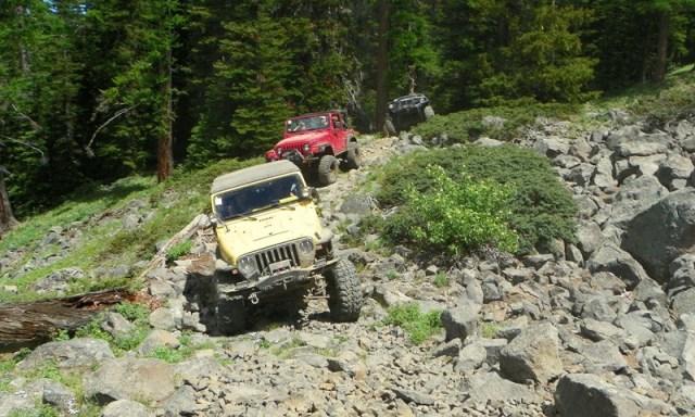 Pacific Northwest 4 Wheel Drive Association's 2011 Trail Jamboree – Day 2 of 5 100