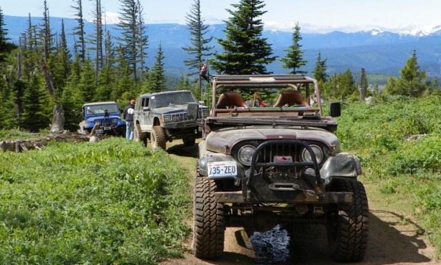Pacific Northwest 4 Wheel Drive Association's 2011 Trail Jamboree – Day 3 of 5 17