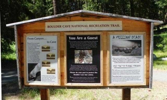 Boulder Cave Hike 1