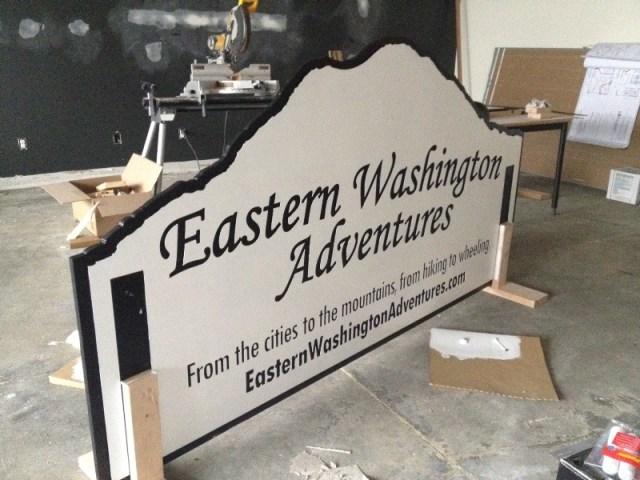 EWA Sign - Thank you Pegasus Northwest! 3