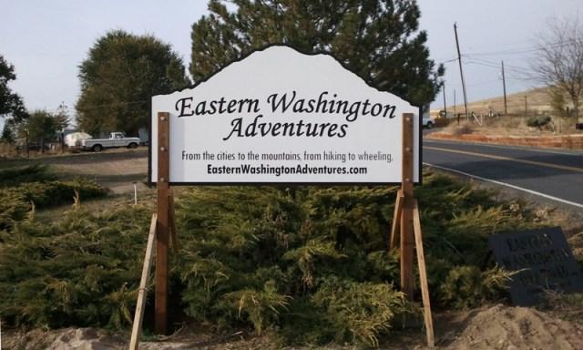 EWA Sign - Thank you Pegasus Northwest! 6
