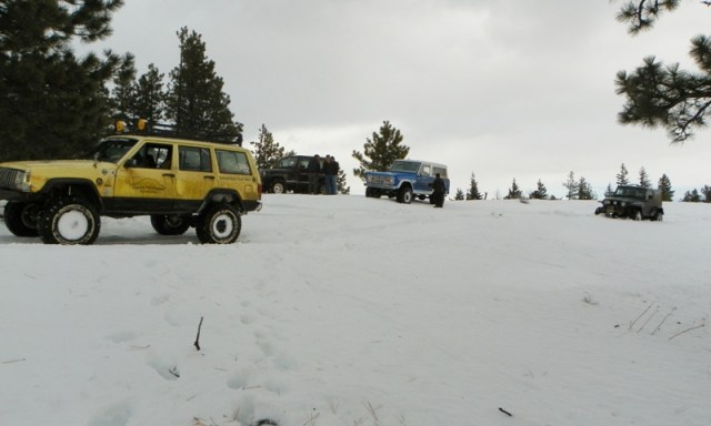 Sledding/Snow Wheeling Run at the Ahtanum State Forest 15