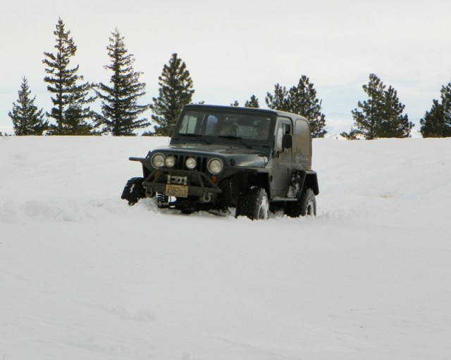 Sledding/Snow Wheeling Run at the Ahtanum State Forest 16