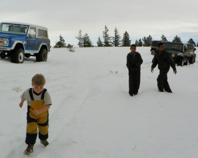 Sledding/Snow Wheeling Run at the Ahtanum State Forest 17