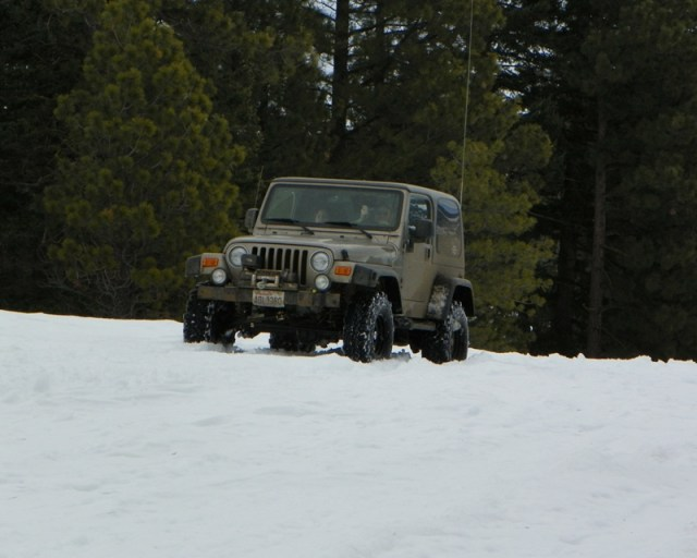 Sledding/Snow Wheeling Run at the Ahtanum State Forest 19