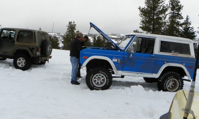 Sledding/Snow Wheeling Run at the Ahtanum State Forest 35