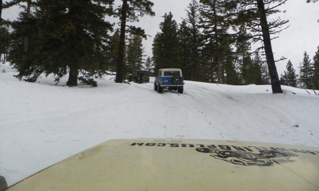 Sledding/Snow Wheeling Run at the Ahtanum State Forest 42