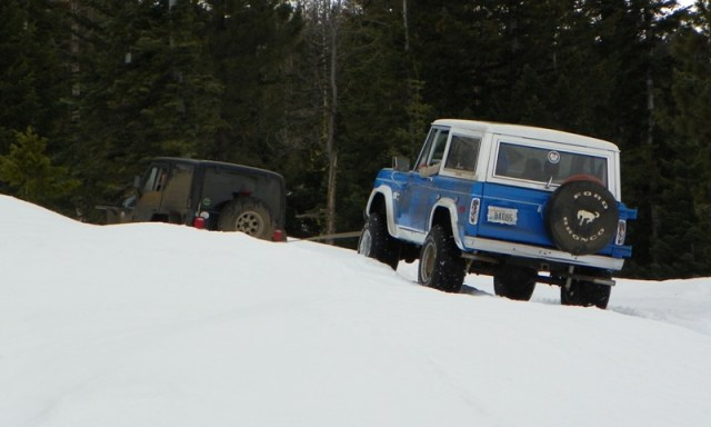 Sledding/Snow Wheeling Run at the Ahtanum State Forest 44