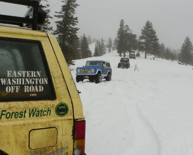 Sledding/Snow Wheeling Run at the Ahtanum State Forest 65