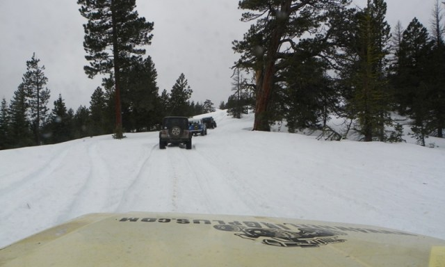 Sledding/Snow Wheeling Run at the Ahtanum State Forest 71
