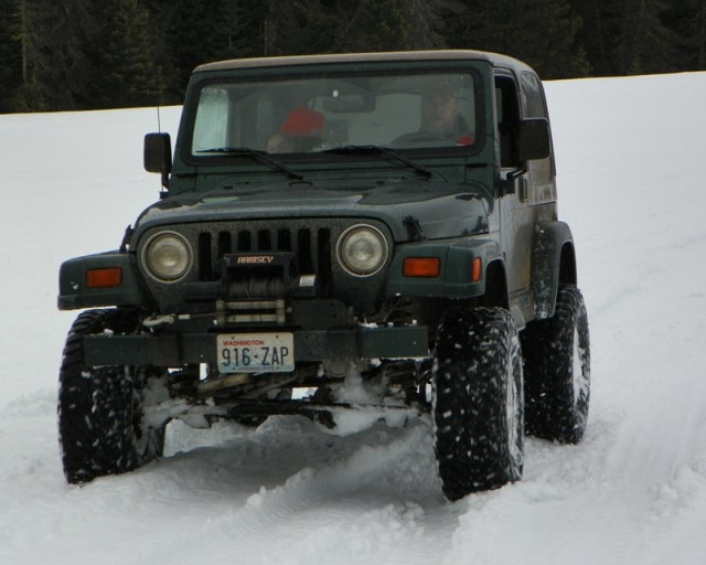 Sledding/Snow Wheeling Run at the Ahtanum State Forest 74