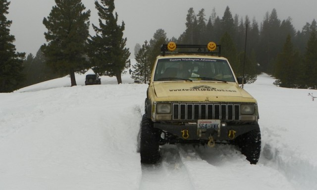 Sledding/Snow Wheeling Run at the Ahtanum State Forest 83