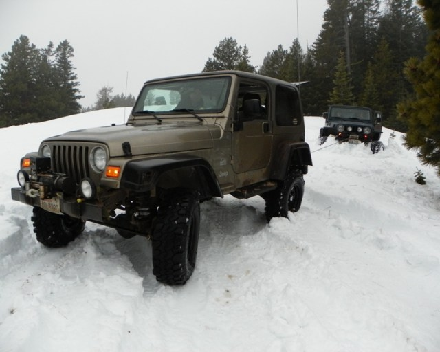 Sledding/Snow Wheeling Run at the Ahtanum State Forest 96