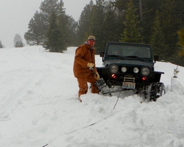 Sledding/Snow Wheeling Run at the Ahtanum State Forest 97