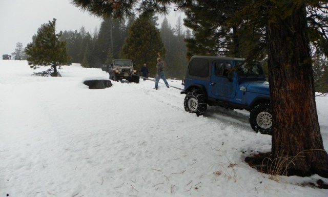 Sledding/Snow Wheeling Run at the Ahtanum State Forest 99