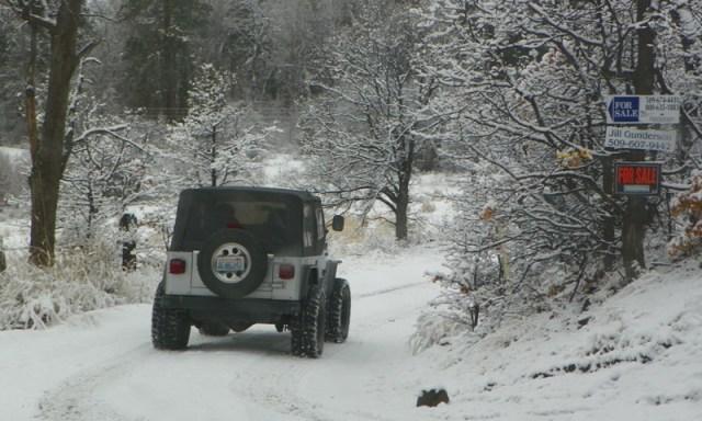 Peak Putters Cowiche Ridge Snow Wheeling 4