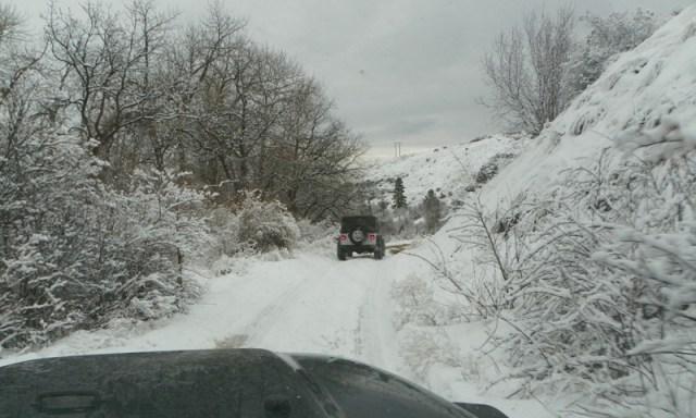 Peak Putters Cowiche Ridge Snow Wheeling 5