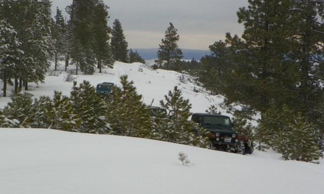 Peak Putters Cowiche Ridge Snow Wheeling 10