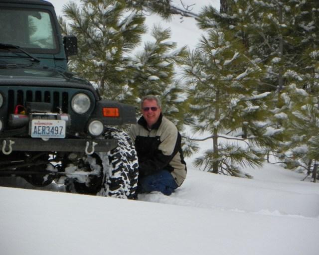 Peak Putters Cowiche Ridge Snow Wheeling 11