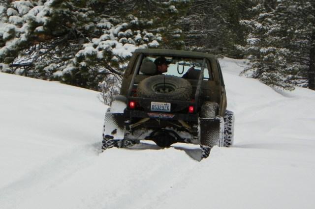 Peak Putters Cowiche Ridge Snow Wheeling 15