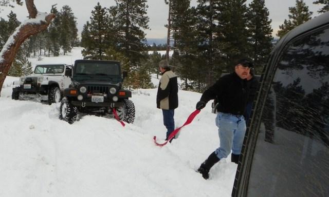 Peak Putters Cowiche Ridge Snow Wheeling 17