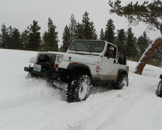 Peak Putters Cowiche Ridge Snow Wheeling 19