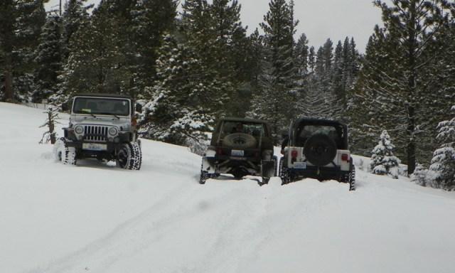 Peak Putters Cowiche Ridge Snow Wheeling 22