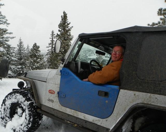 Peak Putters Cowiche Ridge Snow Wheeling 23