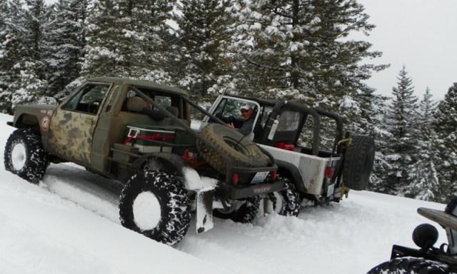 Peak Putters Cowiche Ridge Snow Wheeling 24