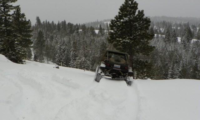Peak Putters Cowiche Ridge Snow Wheeling 26