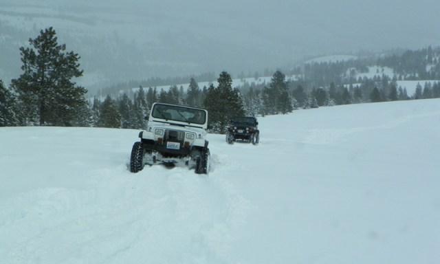 Peak Putters Cowiche Ridge Snow Wheeling 34