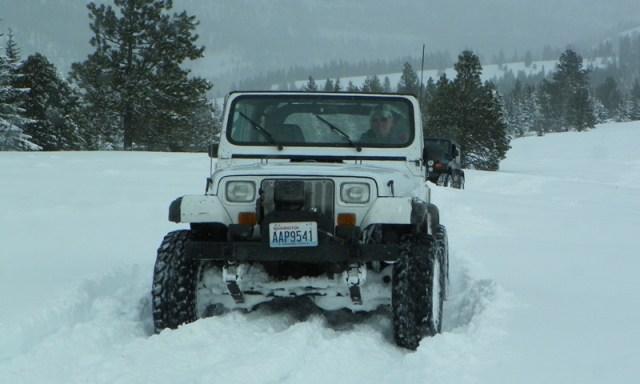 Peak Putters Cowiche Ridge Snow Wheeling 35