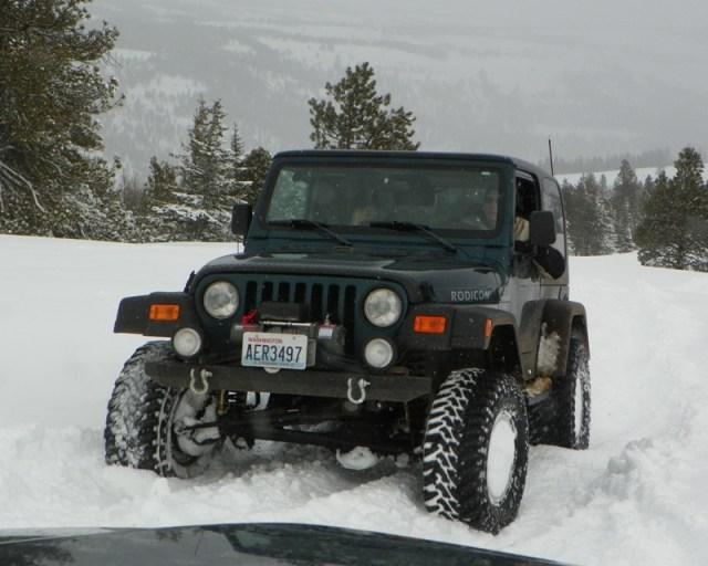 Peak Putters Cowiche Ridge Snow Wheeling 36