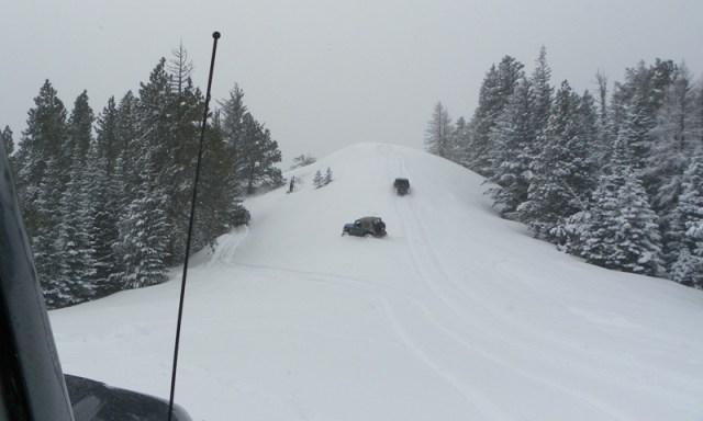 Peak Putters Cowiche Ridge Snow Wheeling 47