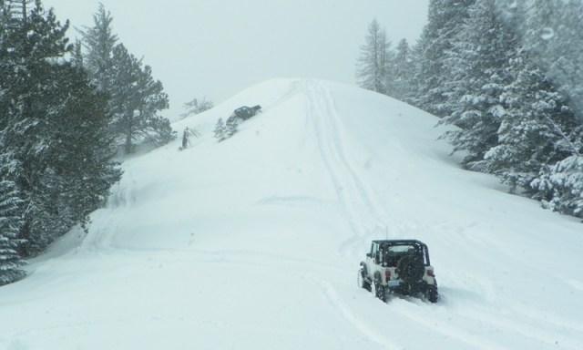 Peak Putters Cowiche Ridge Snow Wheeling 52