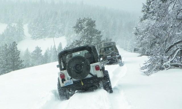 Peak Putters Cowiche Ridge Snow Wheeling 60