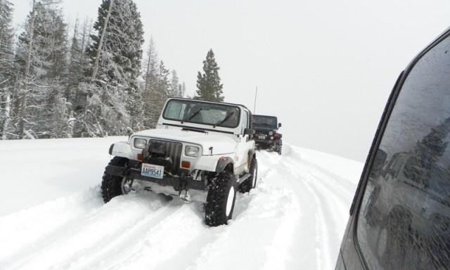 Peak Putters Cowiche Ridge Snow Wheeling 63
