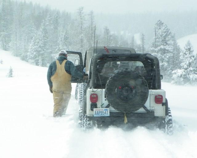 Peak Putters Cowiche Ridge Snow Wheeling 65