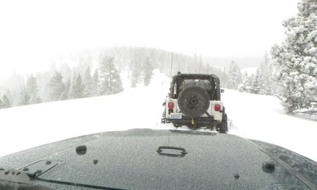 Peak Putters Cowiche Ridge Snow Wheeling 66