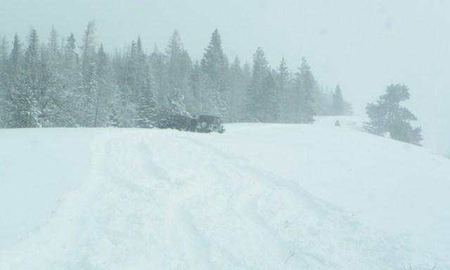 Peak Putters Cowiche Ridge Snow Wheeling 73