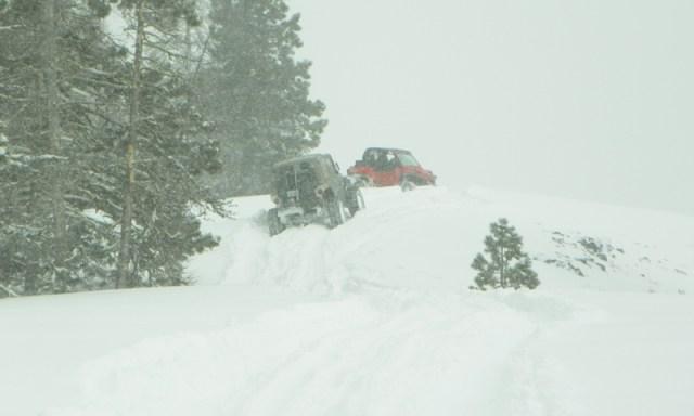 Peak Putters Cowiche Ridge Snow Wheeling 74