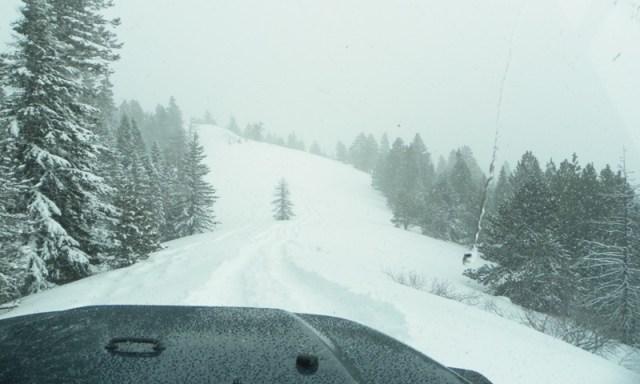 Peak Putters Cowiche Ridge Snow Wheeling 76