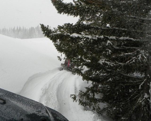 Peak Putters Cowiche Ridge Snow Wheeling 78