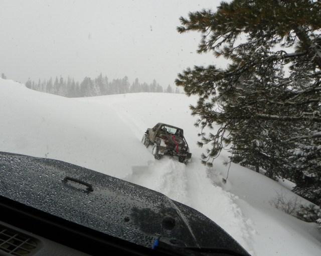 Peak Putters Cowiche Ridge Snow Wheeling 79