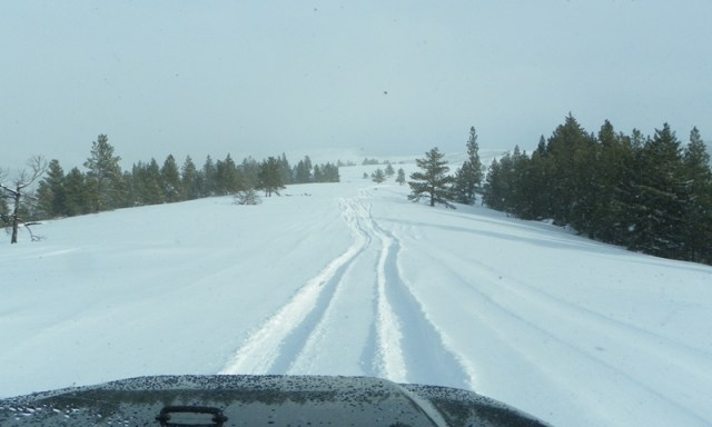 Peak Putters Cowiche Ridge Snow Wheeling 83