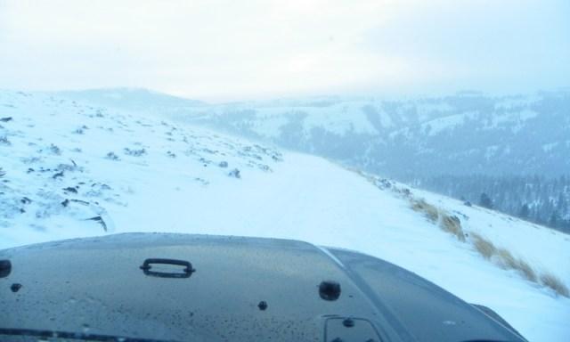 Peak Putters Cowiche Ridge Snow Wheeling 89