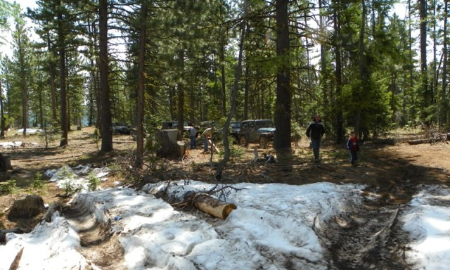 Memorial Day 4×4 Snow Run at the Ahtanum State Forest 5
