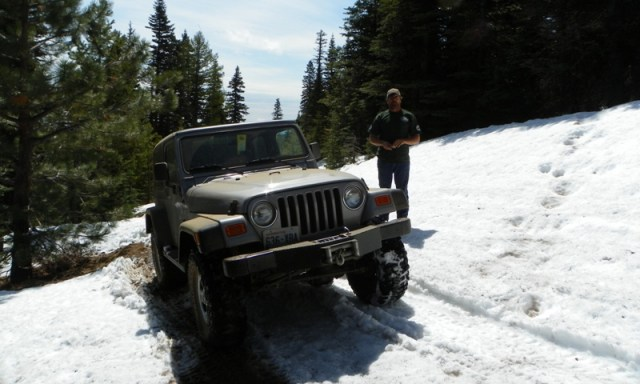 Memorial Day 4×4 Snow Run at the Ahtanum State Forest 8
