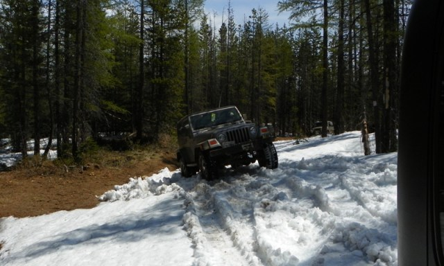 Memorial Day 4×4 Snow Run at the Ahtanum State Forest 18